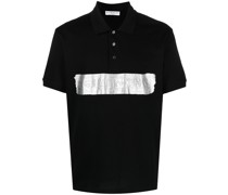 Poloshirt mit Logo-Prägung