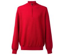 Fleece-Pullover mit Reißverschluss