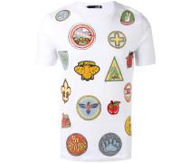 T-Shirt mit Print - men - Baumwolle/Elastan - S