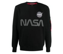 Reflektierendes 'NASA' Sweatshirt