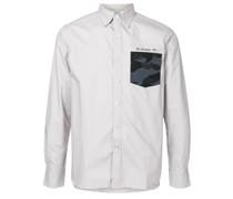 A BATHING APE® Hemd mit Camouflage-Tasche