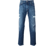 'So Cal' Jeans in Distressed-Optik