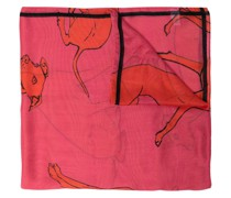 greyhound-print scarf