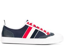 Canvas-Sneakers mit Budapestermuster