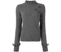 cable knit slim-fit jumper - women