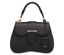 Große 'Sidonie' Handtasche aus Saffiano-Leder