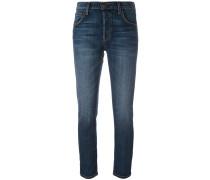 Klassische Skinny-Cropped-Jeans