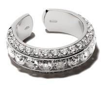 18kt Weißgoldring mit Perle