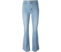 Jeans mit Bootcut-Design