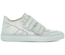 metallic touch strap sneakers