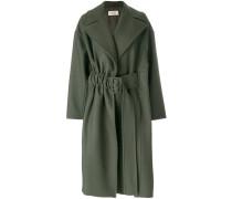 Oversized-Mantel mit Gürtel