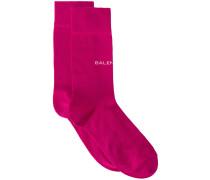 Socken mit Logo-Schriftzug
