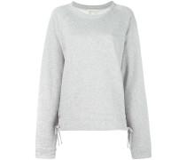 Sweatshirt mit überlangen Ärmeln - women