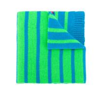 reversible neon stripe scarf