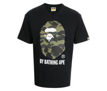 A BATHING APE® Bape camouflage-print cotton T-shirt