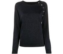 Pullover mit Schmuckknöpfen