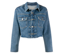 'Berty' Cropped-Jeansjacke