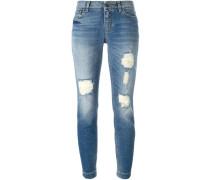 Jeans in 'Used'-Optik