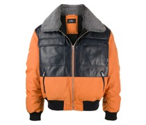 Bomberjacke in Colour-Block-Optik