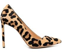 Pumps mit Leoparden-Print, 100mm