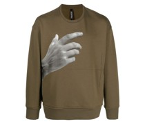 Sweatshirt mit The Other Hand Series-Print