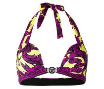 Bikini-Top mit barokem Print