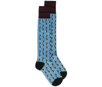 - Gemusterte Socken - women - Baumwolle - 10