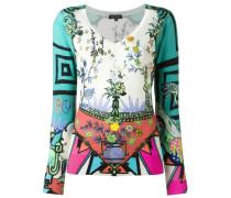 Pullover mit orientalischem Motiv