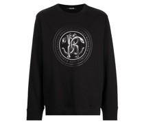 T-Shirt mit Mirror Snake-Print