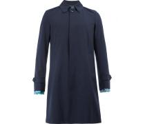 Mittellanger Mantel mit Kontrastbündchen - men