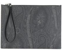paisley-print pouch