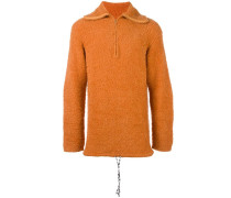 Texturierter Oversized-Pullover