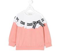 Sweatshirt mit Schleife