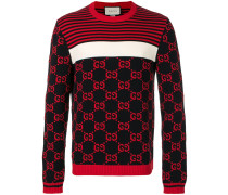 GG intarsia knitted sweater