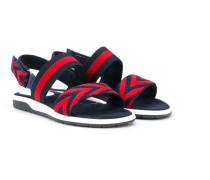 Sandalen mit Webstreifen - kids