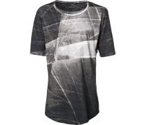 T-Shirt mit stilisiertem Print