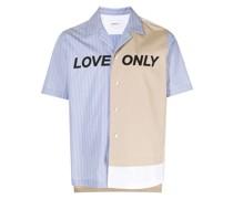 Love Only Hemd mit Nadelstreifen