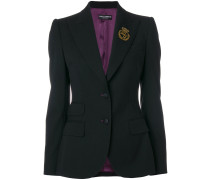 Blazer mit Logo-Patch
