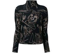 Pullover mit Print - women - Polyester