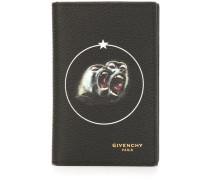 Portemonnaie mit Pavian-Print