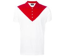 Poloshirt mit rechteckigem Print