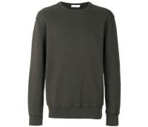 distressed finish sweatshirt