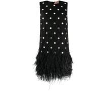 Kleid mit Sterne-Print