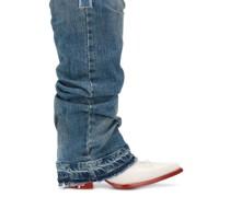 Western-Stiefel in Jeansoptik