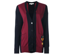 Cardigan mit Patches