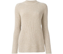 - Gerippter Wollpullover - women - Wolle - L