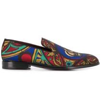 Loafer mit Stickerei