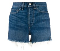 Taillenhohe 'Kenzie' Jeans-Shorts