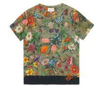 Flora Snake print T-shirt