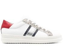 Pontoise panelled sneakers
